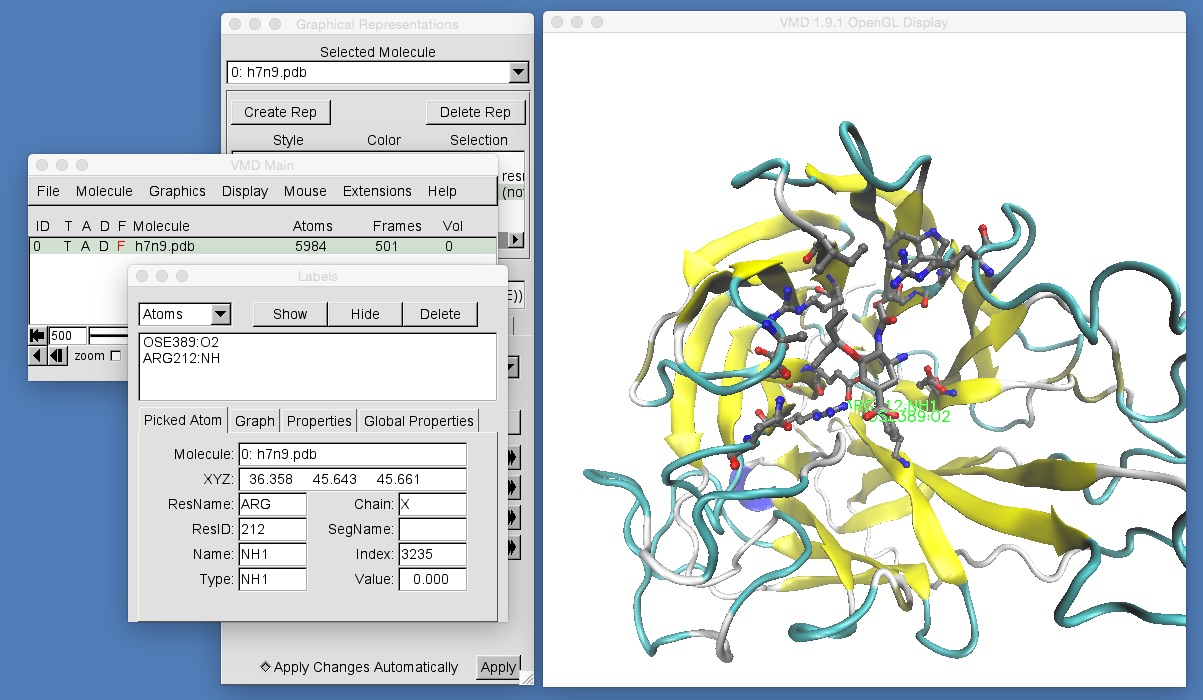 chryswoods com | Part 1: Molecular Visualisation